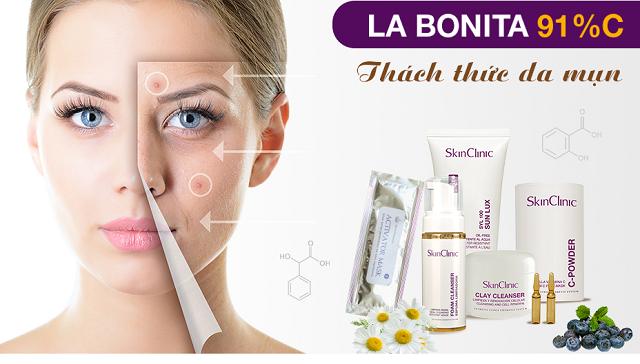 Điều trị mụn bằng Labonita 91% C