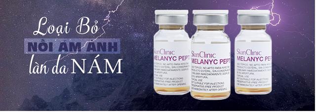 Điều trị nám - tàn nhang Melanyc peptide ngăn nám quay lại