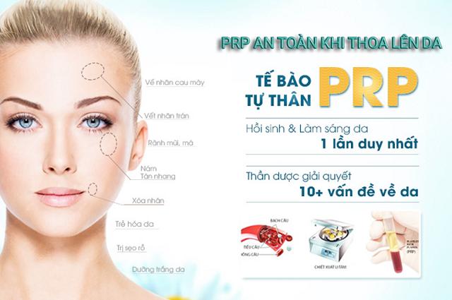 Trẻ hóa da bằng phương pháp PRP