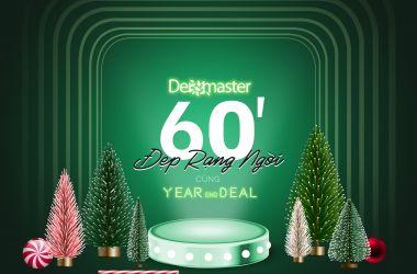 Dermaster Year End Deal - Đại tiệc ưu đãi cuối năm