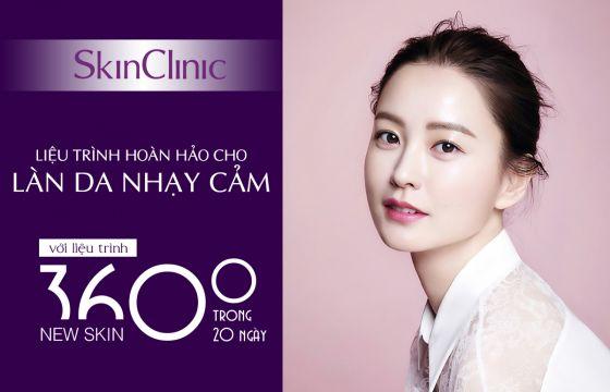 Làm đẹp làn da nhạy cảm với công nghệ 360 độ new skin